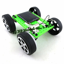 NIDALE model DIY Assemble puzzle model kit solar car model Children enlightenment toys
