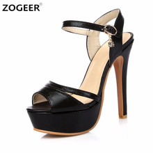 Plus Size 46 New 2017 Summer Woman Sandals Fashion Gladiator Sandal Platform High Heel Luxury Gold Silver Black Sexy Shoes Woman