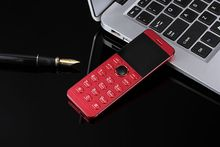 2017 Original ULCOOL V16 Luxury Cell Phone Super Mini Ultrathin Card Metal Body Bluetooth 2.0 Dialer MP3 Children Card Phone(China)
