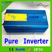 3500W Pure Sine Wave Power Invertor 12V DC to 220V - 240V AC 7000 Watt Peak(China)