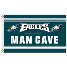 Philadelphia Eagles Flag MAN CAVE Banner Flag World Series Football Premium Team 3ft X 5ft Banners Philadelphia Eagles Flag(China)