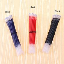 20 PCS Neutral Ink Gel Pen Refill Neutral Pen Good Quality Refill Black Blue Red 0.5mm 0.38mm Bullet Refill Office And School