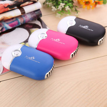 Portable Mini USB Rechargeable Bladeless Fan Summer Air Conditioner Handheld Bladeless Fan Ventilador For Sports Cooling(China)
