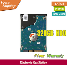 Original Brand Hard Drive 320GB HDD 7200rpm 16MB Cache 2.5 inches SATA II 7mm Laptop Hard Drive