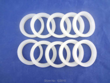 100 pcs of white silicon sealing ring, sealing loop for solar water heater,  for vacuum tube 58mm