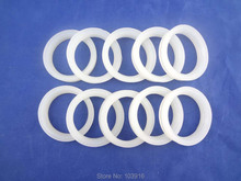 100 pcs of white silicon sealing ring, sealing loop for solar water heater, for vacuum tube 58mm(China)