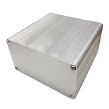 Mayitr Extruded Aluminum Enclosure Case DIY Electronic Project PCB Instrument Box DIY 100x100x50mm