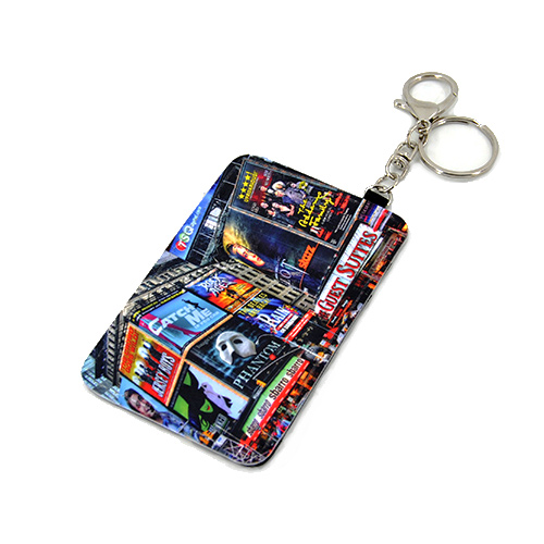 sublimation fabric polyester card holder