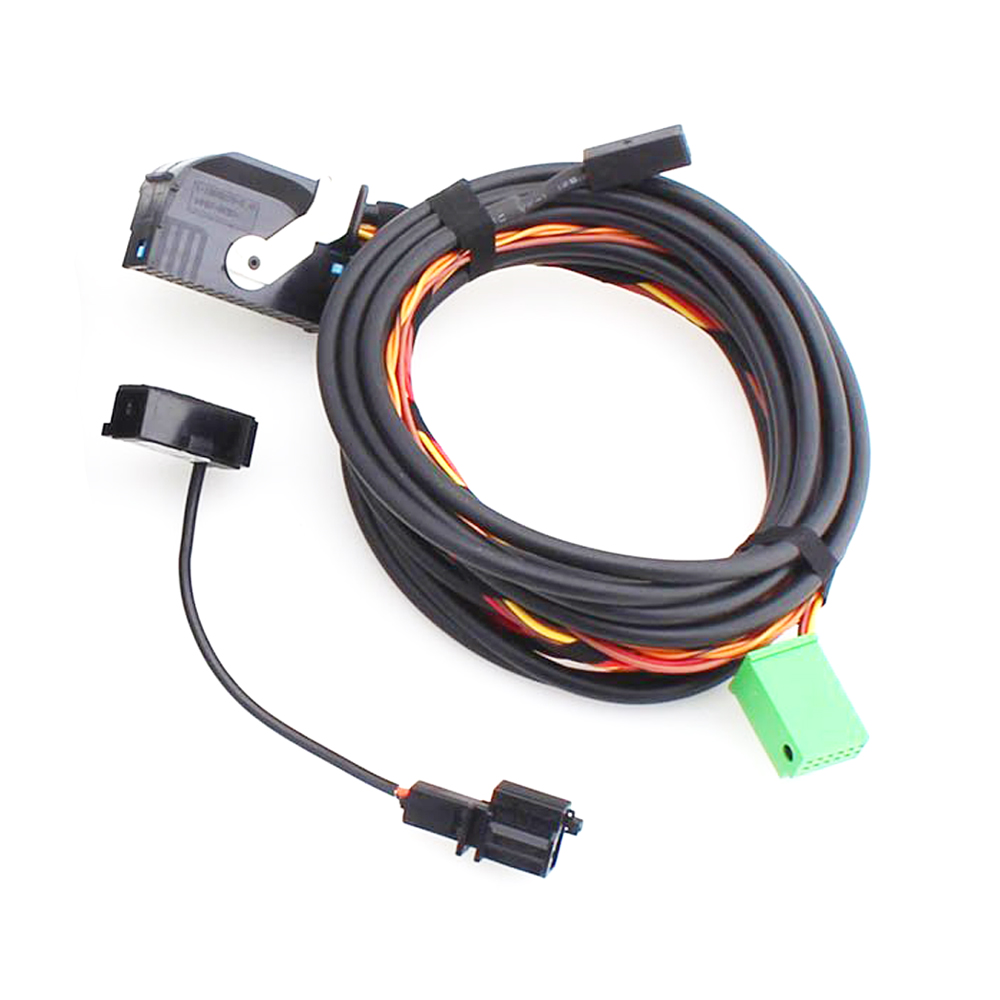 Car Radio RCD510 Micphone font b Bluetooth b font Adapter AUX USB MP3 Cable font b online buy wholesale vw bluetooth kit from china vw bluetooth kit For Ford 302 Fuel Injection Wiring Harness at alyssarenee.co