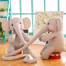 Hot Soft Elephant Plush Toys Stuffed Animal Doll Comfort Baby Pillow Toy For Children Kids Kawaii Cute Cushion Brinquedos Gifts(China)