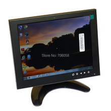 "8"" inch LCD Monitor Color Screen BNC/TV AV VGA HD Remote Control for PC CCTV Computer Game Security"