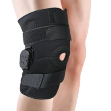 Adjustable Hinged Knee Limited Support Brace Knee Full Protection Sport Injury Knee Pads Safety Guard Strap for running jogging(China)
