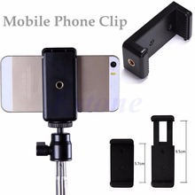 New High Quality Mini Mobile Phone Camera Tripod Stand Clip Bracket Holder Mount Adapter for HTC iPhone 6 Handlebar Clip hot