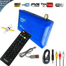 DVB-S2 Digital Satellite Receiver HD AC3 Audio USB WIFI Youtube Dual USB Combo Support Cccam Newcam Power vu Biss Key Decoder
