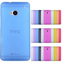Case Cover Skin Shell for HTC One M8 M7 M9 One Max Ultra Thin Matte Translucent Soft Plastic Back