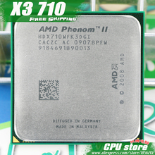 AMD Phenom II  X3 710 CPU Processor  Triple-Core (2.6Ghz/ 6M /95W / 2000GHz) Socket am3 am2+  free shipping 938 pin sell X3 720