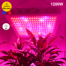 Full Spectrum 1200W LED Grow lights IR UV RED BLUE ORANGE WHITE For Flower Plants Stock in US/UK/GE/AU/CA
