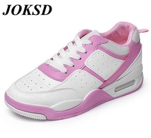 JOKSD Women's 2017 Blast Light Basketball Shoes Breathable Sneakers Comfort Sports Women Outdoor Genuine Leather shoes A119