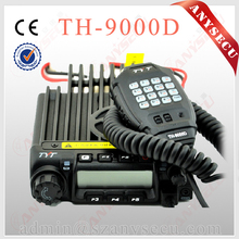 TYT Vehicle Radio TH-9000D 220-260MHz 60Watts Output Power Car Transceiver Black Mobile Radio Scrambler Free shipping