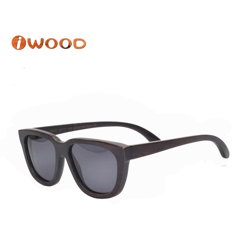 ZA35 Bamboo wooden sunglasses New 2016 Grey polarized lens oculos de sol masculino men sunglasses women<br><br>Aliexpress