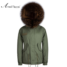 Winter Coats men Korean Style Faux Fur Lined Jackets Cotton-padded Outerwear Military Parka abrigos mujer 3XXL Plus Size(China)
