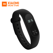 Global Version Xiaomi Mi Band 2 miband 2 fitness tracker heart rate monitor & Oled display smartband 20days standby(China)