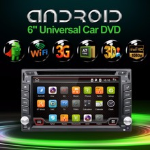 2 din android 6.0 Car DVD GPS Navigation Car Stereo Radio Car GPS 3G Wifi Bluetooth USB/SD Universal Player(China)