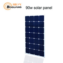 Boguang1pcs 90W solar panel cell Aluminum Solar Panel China solar module for home system car RV boat yacht 12V battery charger