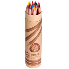 DL 6551 no wood color lead wooden pen/protection forest/non - toxic/green/colored pencils/brush wholesale(China)