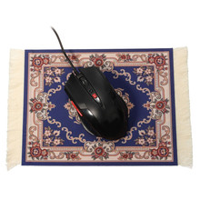 280x180mm Gaming Mouse Square Keyboard Mat Pad Persian Carpet Mousepad With Tassel for Computer Laptop Christmas Gift Home Decor