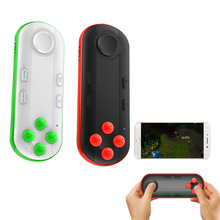 Bevigac Mini Bluetooth Game Controller Mini Gamepad Shutter for iOS Android PC System 3D VR Glasses Mobile Phone Tablet PC(China)
