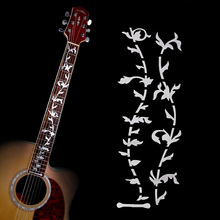 Musical Instruments Acoustic Electric Guitar Bass Fretboard Sticker DIY Vine Plant Design Art Decal Guitar Accessories ARE4