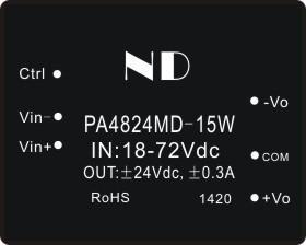 dc-dc step down converter 24V 48v 72v to dual output  24v isolated power module 24v dc power supply adapter quality goods<br><br>Aliexpress