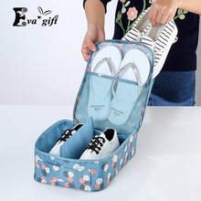 Printing patterns shoes bag storage box for travel large capacity organizer bags Breathable Anti-dust bags Multifunctional bag(China)