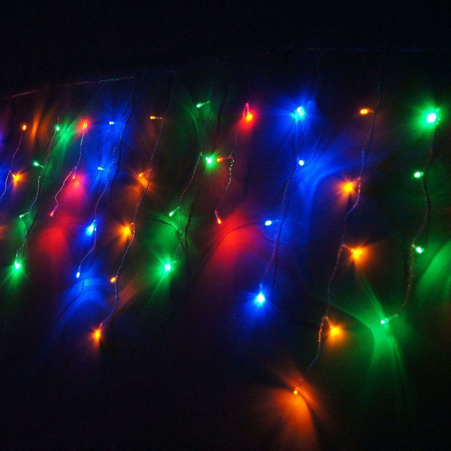 LED Curtain Icicle String Fairy Light 3-24M LED Christmas Garland Indoor Outdoor Party Garden Stage Decorative Lights 110V 220V (18)