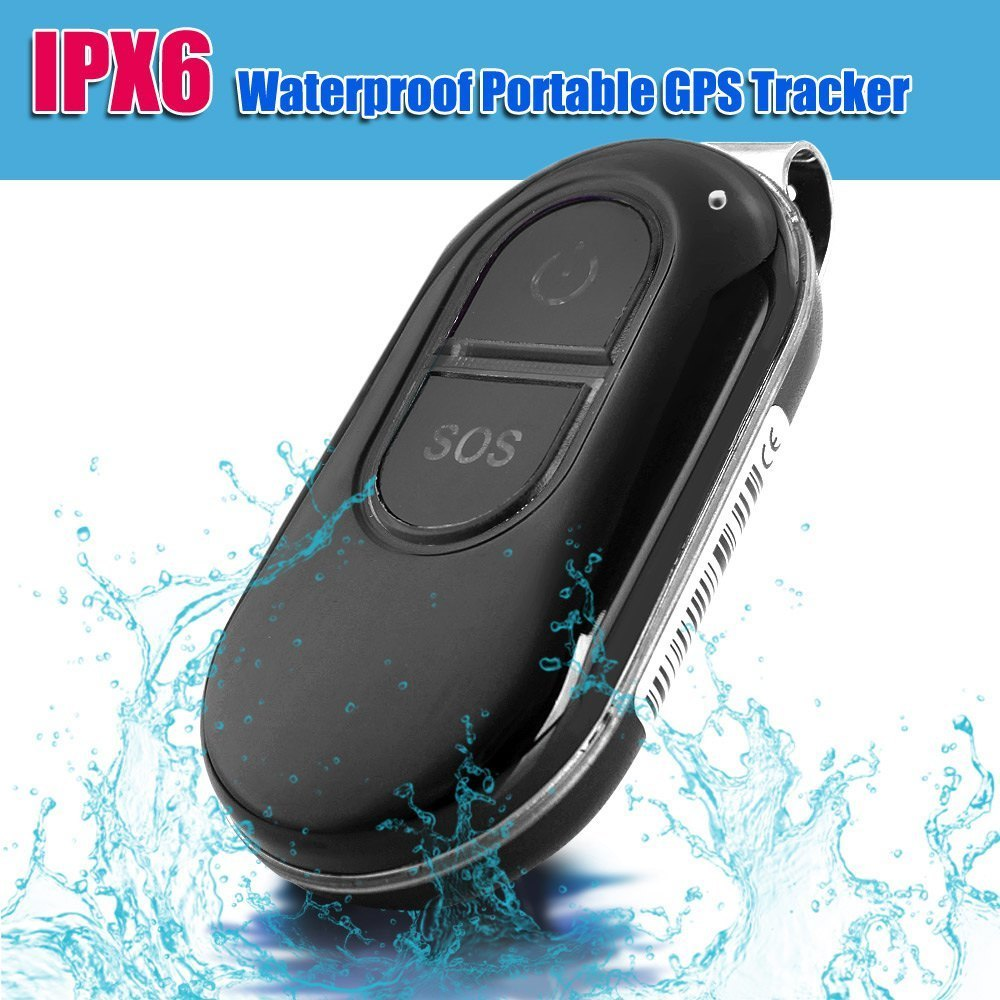 Portable IPX6 12V Waterproof LK106 Mini GPS Tracker Real-time EU/US Plug SOS Alarm For Pet Animal Kids GSM GPRS Tracking USB(China (Mainland))