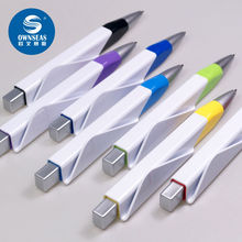 200 pcs/lot new design office supplies cute square ball pen caneta
