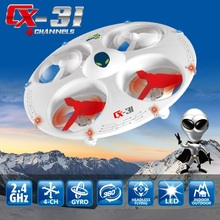 Amazing Cheerson CX-31 Mini UFO CX31 Drones Headless Mode 2.4GHz 4ch 6-Axis Gyro3D Eversion remote control Quadcopter(China)