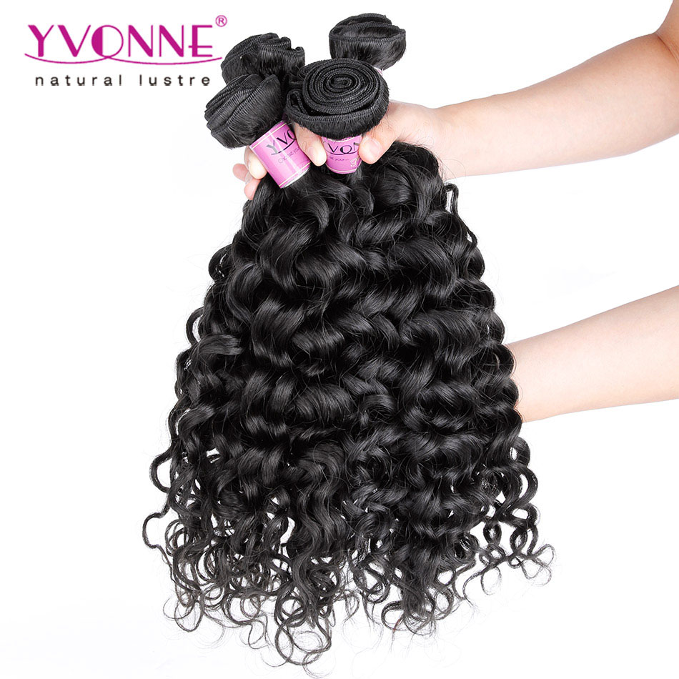 4Pcs/lot Brazilian Curly Virgin Hair,Top Quality Italian Curly Hair Extension,Aliexpress YVONNE Human Hair,Natural Color 1B<br><br>Aliexpress