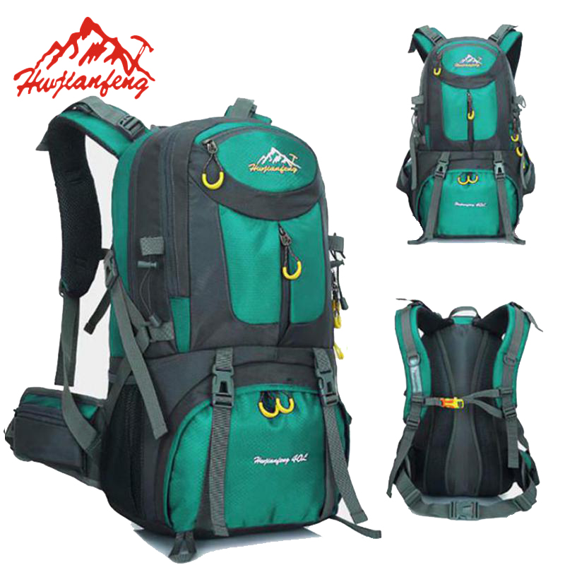 40L 50L Waterproof Hiker Wayfarer Backpack Mountain Climbing Bag Outdoor Sports Rucksack Hiking Camping Travel Bagpack HAB047<br>