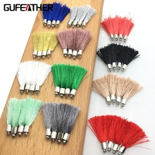 GUFEATHER/Tassel/jewelry accessories/accessories parts/diy /hand made/jewelry findings & components/embellishments 10pcs/bag