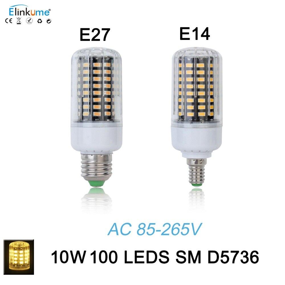New SMD 5736 Lampada LED Lamp E27 E14 AC 85-265V 10W Spotlight E27 Bombillas LED Bulb E14 Spot Lamparas LED Light Christmas<br><br>Aliexpress