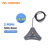 Cheap 2.4 GHz 10dBi Antenna base Wireless RP-SMA for USB Modem Router PCIU SB Wifi Booster comfast Indoor high gain wifi antenna