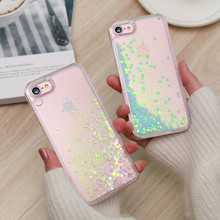 KISSCASE Cute Shiny Quicksand Sequin Case For iPhone 6 6s 7 Plus 5 5s SE Bling Sequin Cover For iPhone 7 6 6s Plus 5 SE Capa