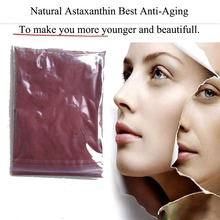 Natural Astaxanthin powder the best anti aging antioxidant from Haematococcus extract be young more easy skin whitening