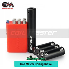 Coil Master V4 100% Authenitc 6-in-1 Coil Jig Kit with Authenticity Scratch Code Coiling Kit V4 Coiling Jig V4 6 in 1(China)