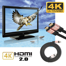 HDMI Cable HDMI to HDMI cable Ultra High Speed HDMI V2.0 Cables HDTV LED LCD PS4 2160P 4K BLURAY 18Gbps Cable L3FE(China)