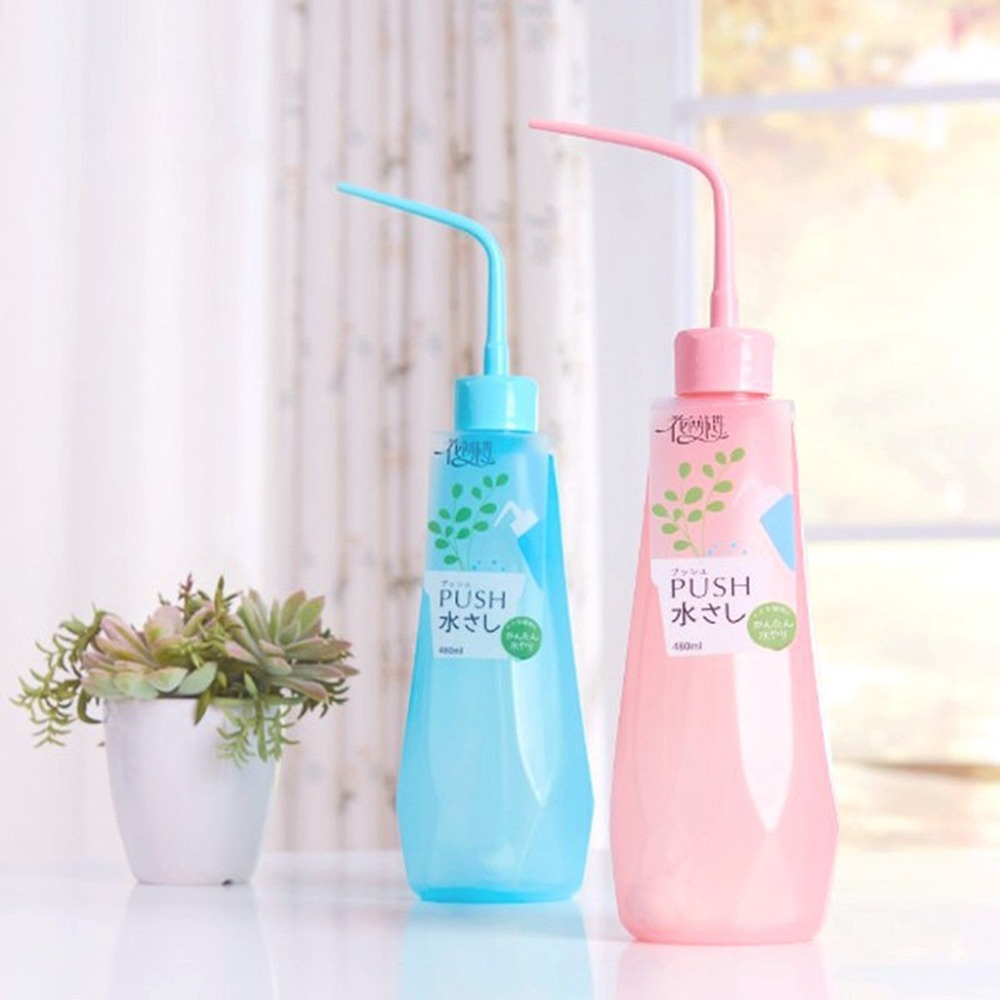 Plant Flower Succulent Watering Bottle,Bend Mouth Watering Cans,Garden Watering Tools for Plant Flower Succulent