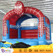 PVC material 13ft*13ft*13ft inflatable trampolines inflatable spiderman shape trampoline for kid event Bouncer toy