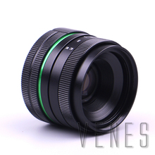 Green circle Lens 35mm Upgraded Style Manual Iris Lens Suit For Fuji Canon Nikon Sony Olympus 35mm F1.6 Lens for canon f1.6